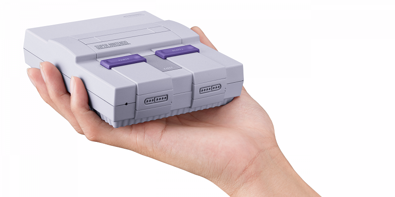 Консоль Nintendo Super NES