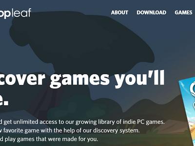 Dropleaf — новая платформа для инди игр