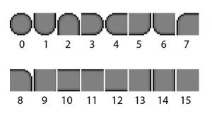 Тайлсет для метода 16-4