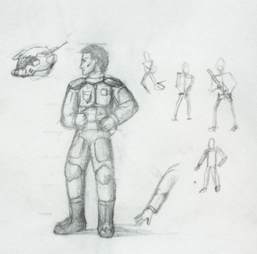 Как нарисовать персонажа для игры 2d