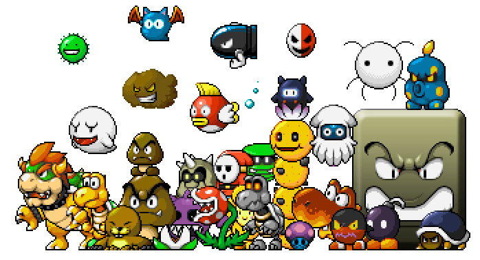 Враги из серии игр Марио