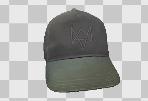 кепка Эйдена Пирса как объект 3D графики в играх