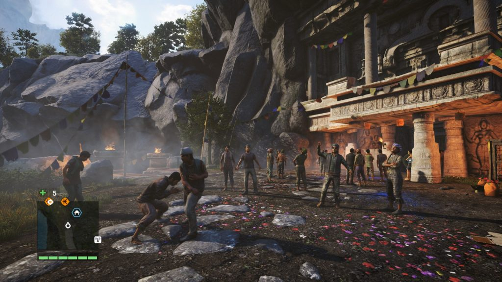 кадр со сценой из Far Cry