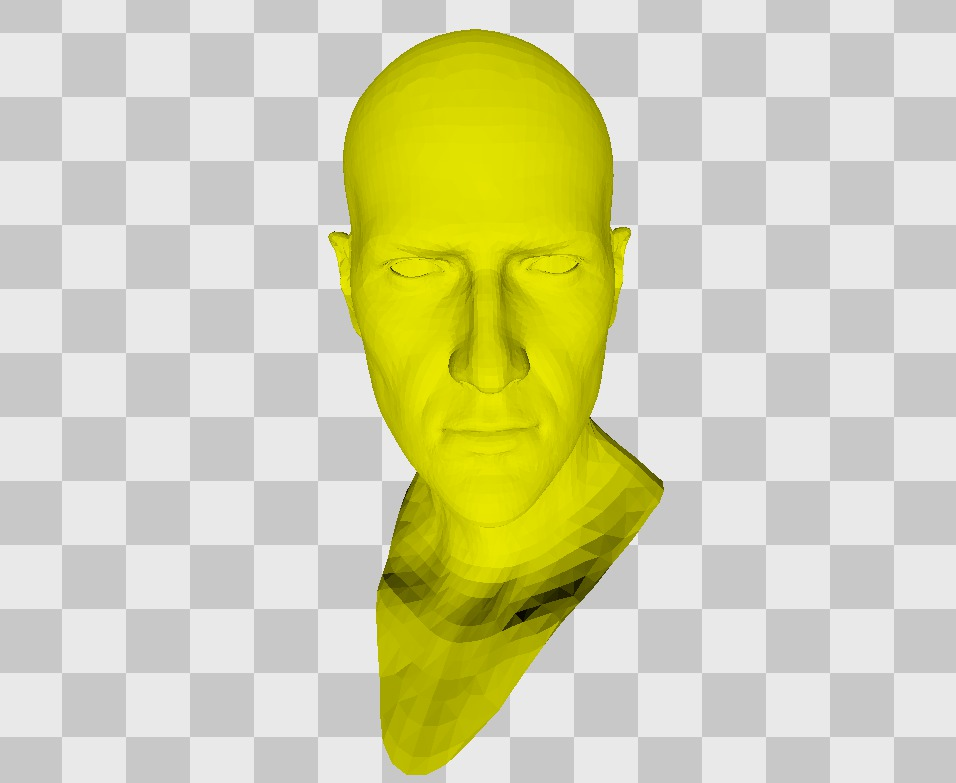 3D голова Эйдена Пирса