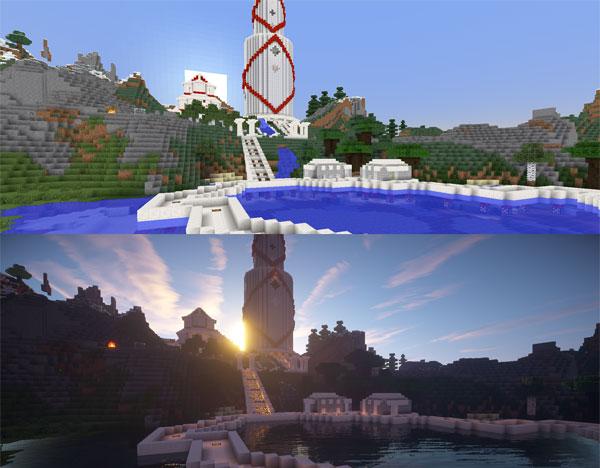 Minecraft шейдеры