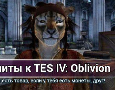 Все читы, коды, секреты к TES 4: Oblivion