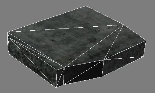 Каркас камня