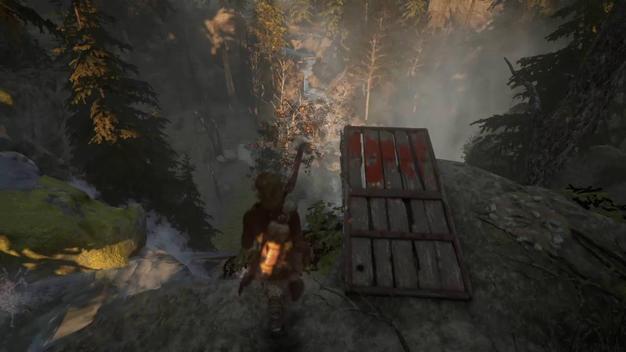левел-дизайн в Tomb Raider