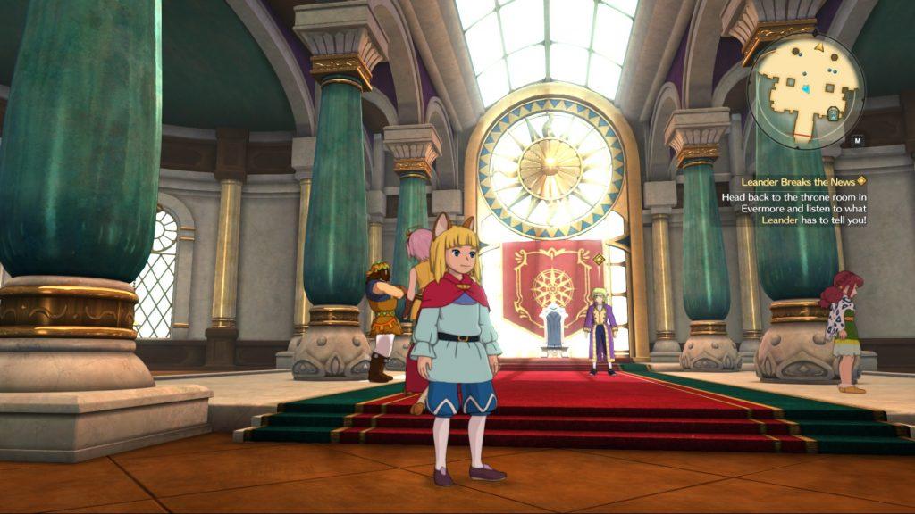 Визуализация кадра в игре Ni no Kuni 2