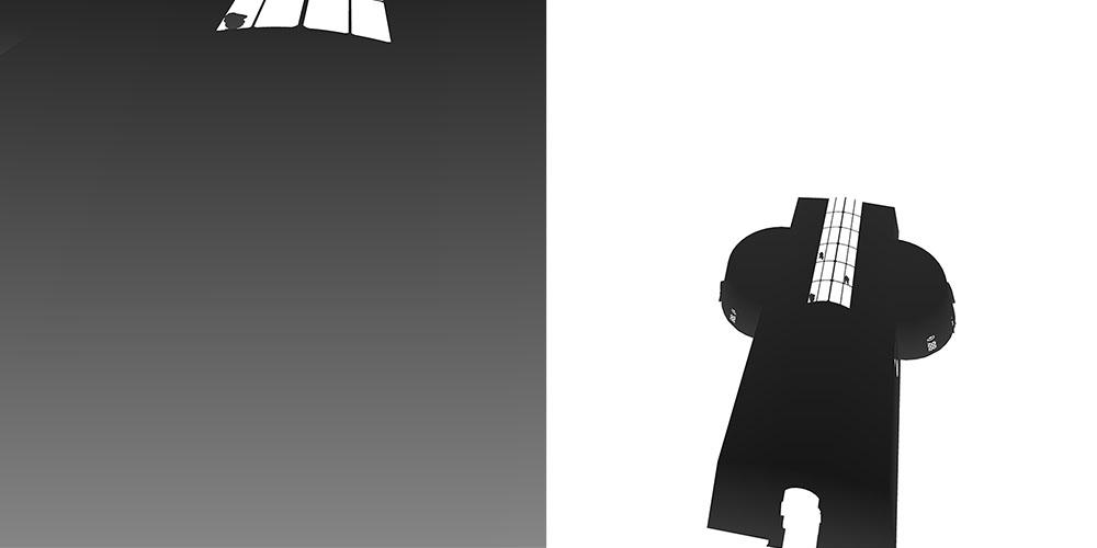 визуализация тени