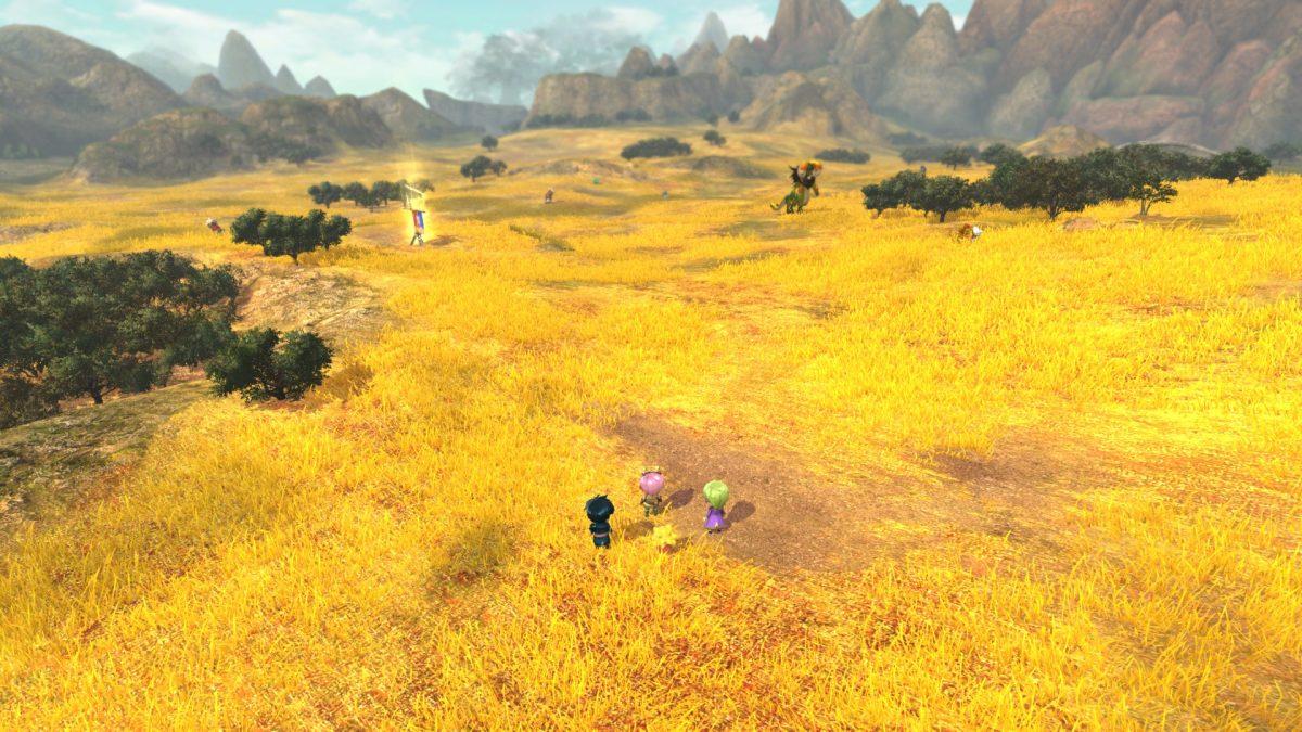 глубина резкости в пейзажах игры