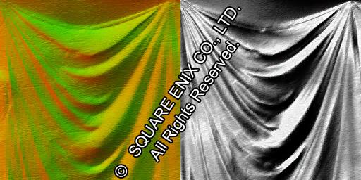 анимация текстуры ткани