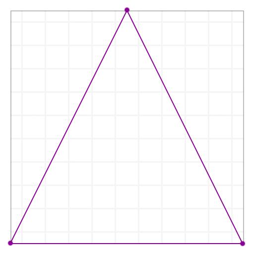 координаты треугольника