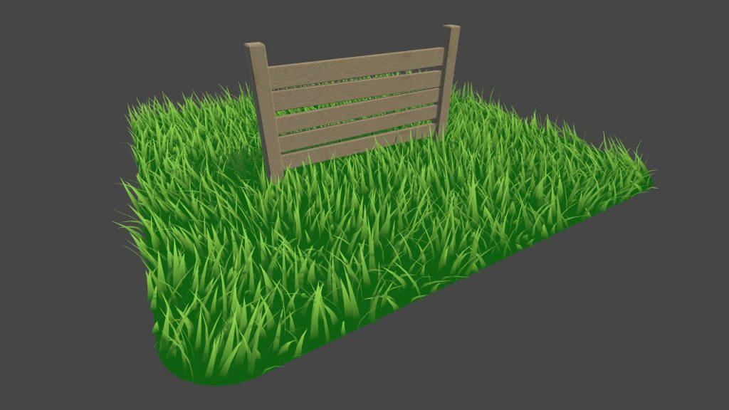 шейдер травы готов