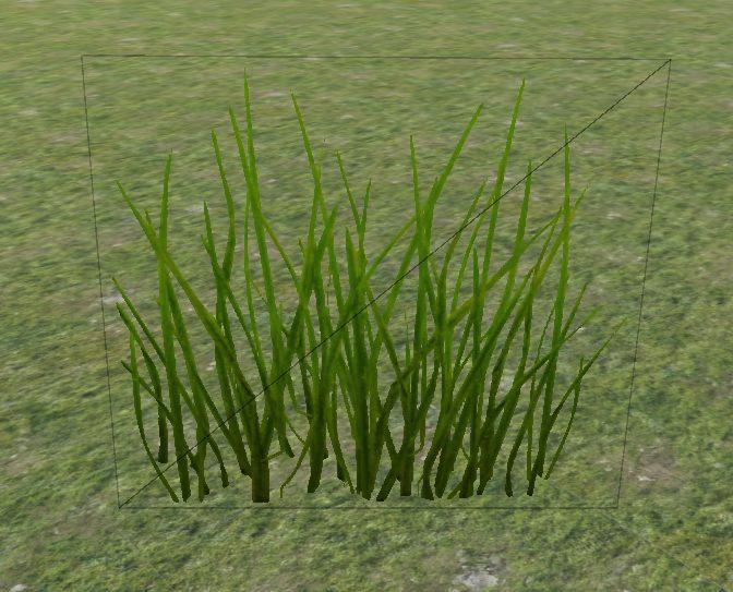 текстура травы в Юнити