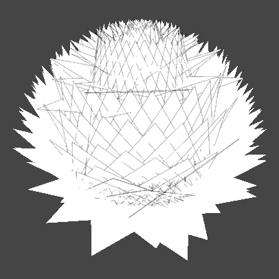 правильный шейдер травы на сферической сетке