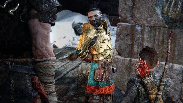 Проработка персонажей в God of War