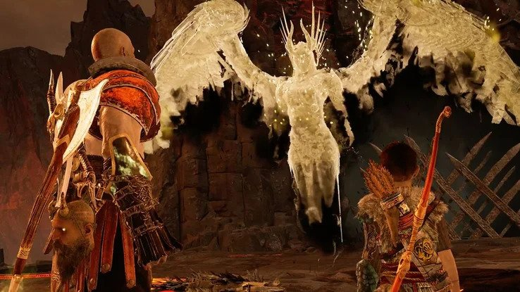 Контент в God of War