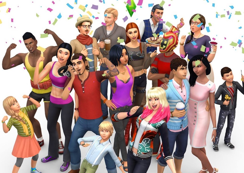 Список команд на умения в игре Sims 4