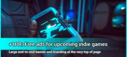 Free ads for indie games without publisher: +1PR