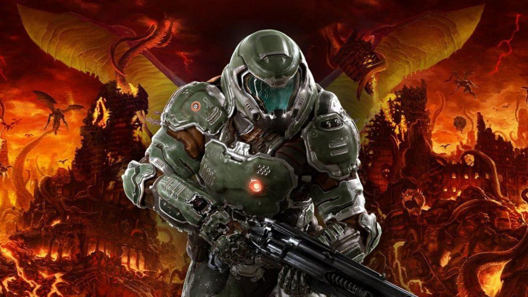 Вышел геймплейный ролик Doom Eternal с боем против Охотника Рока