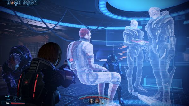 Голограмма в игре Mass Effect