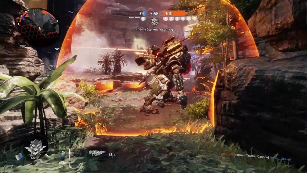 Силовое поле в Titan Fall 2