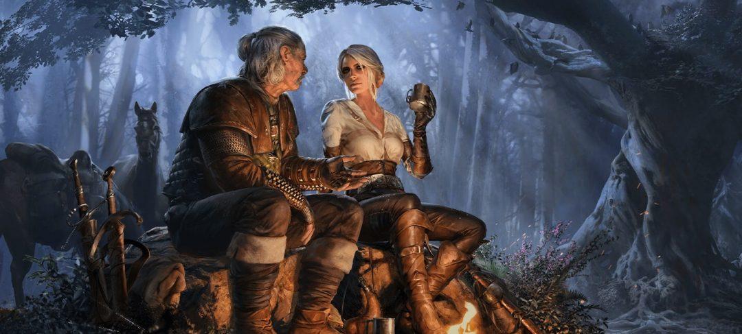 Цири спешит в Gwent: The Witcher Card Game