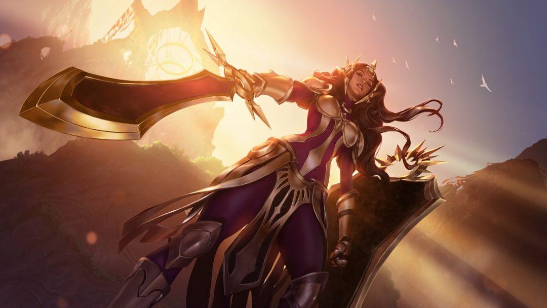 С выходом обновления «Зов Горы» к Legends of Runeterra в игре появится Леона