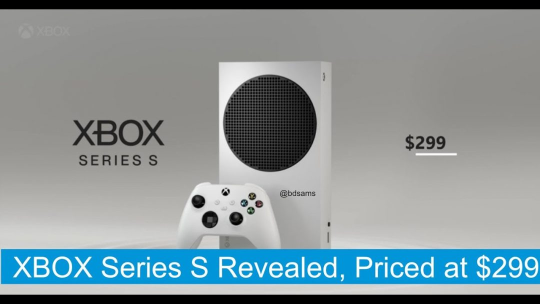 Представлена новая консоль Xbox Series S