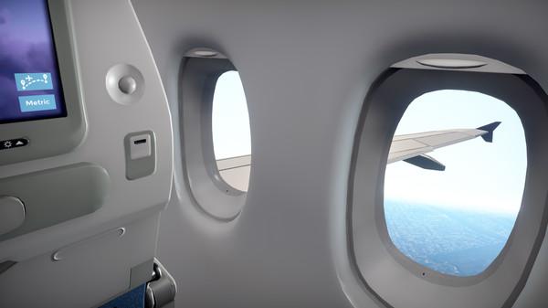 В Steam стал доступен симулятор пассажира самолета Airplane Mode