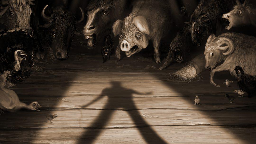 Анонс даты релиза Orwell's Animal Farm