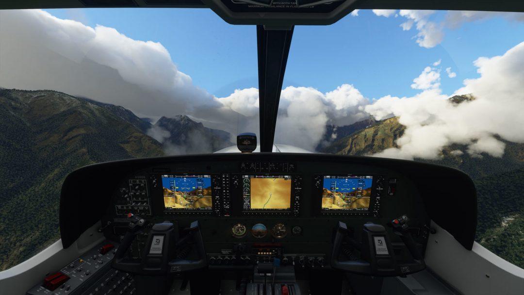 Пользователь сравнил реальный полет с полетом в Microsoft Flight Simulator