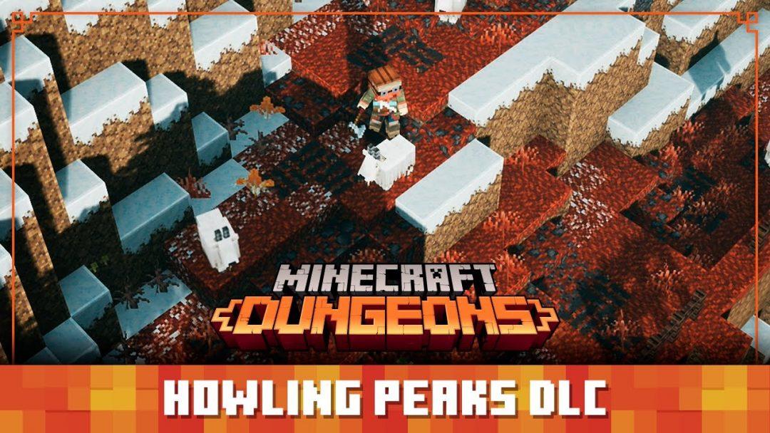 Релизный трейлер дополнения Howling Peaks для Minecraft Dungeons