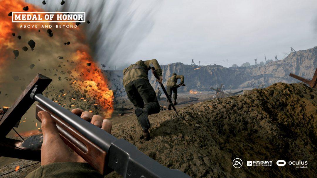 VR не для слабых: стали известны системные требования Medal of Honor: Above and Beyond