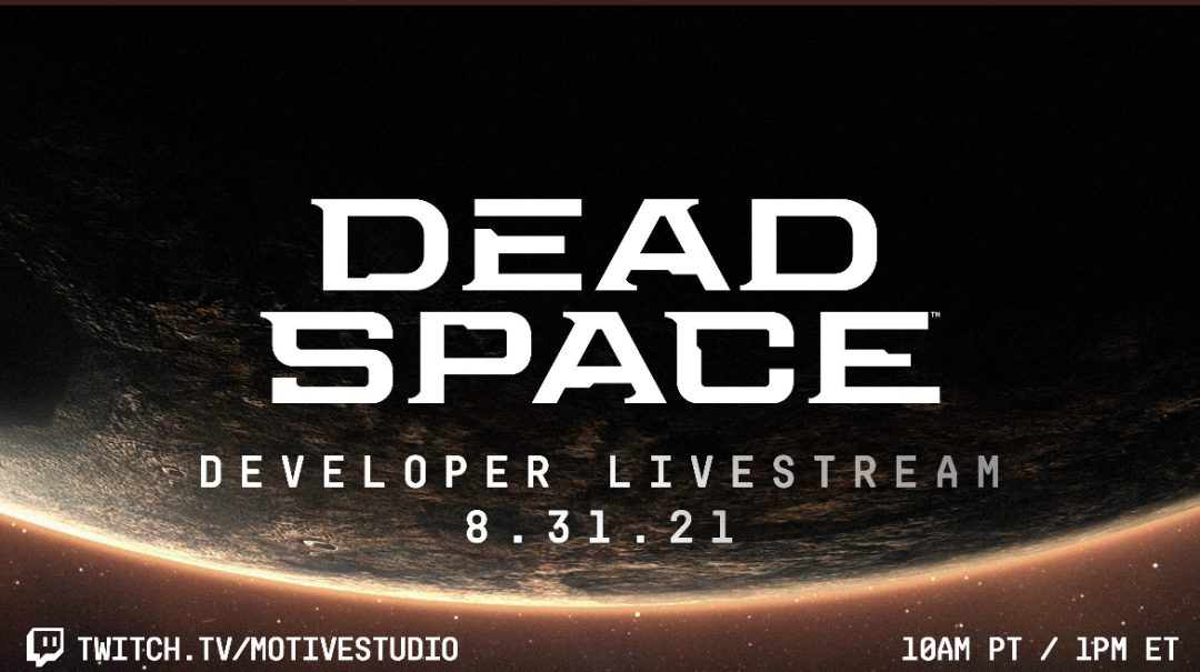 Сегодня ЕА Motive проведёт стрим, посвящённый разработке ремейка Dead Space