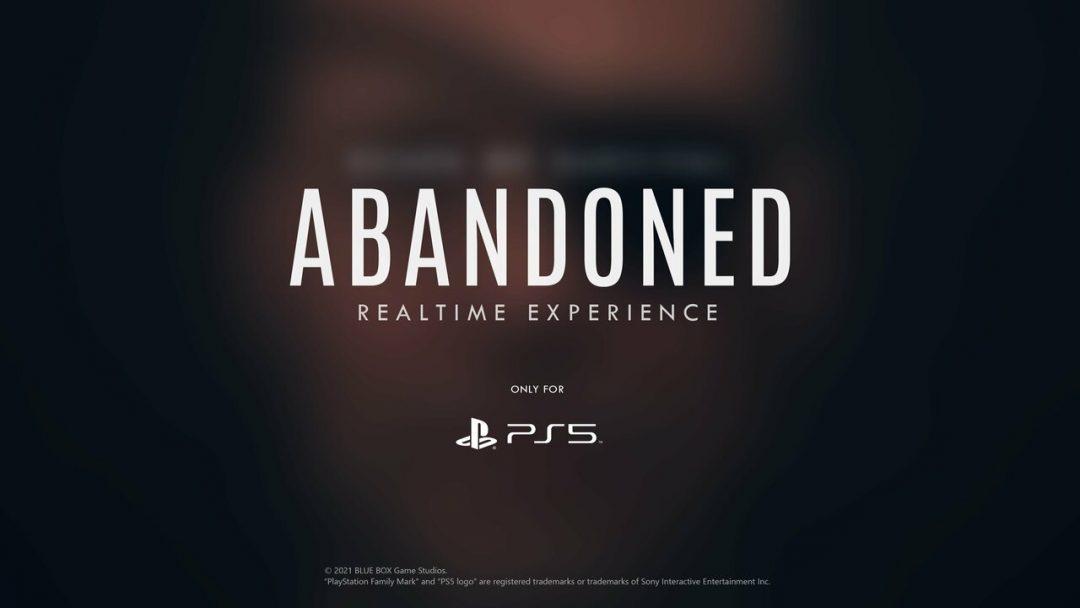 В приложении Abandoned показали первый тизер игры — он длился две секунды