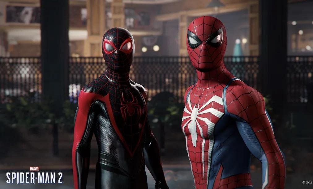 Insomniac: трейлер Marvel's Spider-Man 2 работает на PS5 в реальном времени
